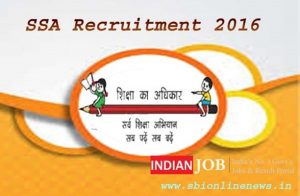 SSA Odisha Recruitment 2016
