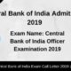 Central Bank of India Admit Card (1)