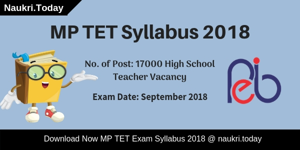MP TET Syllabus