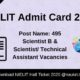 NIELIT Admit Card