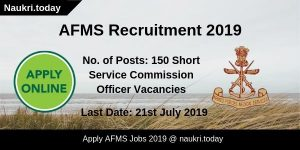 AFMS Recruitment
