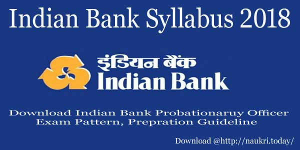 Indian Bank Syllabus