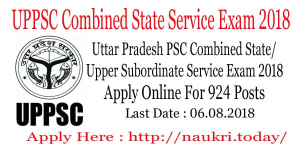 UPPSC Combined State Service Exam