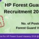HP Forest Guard Recruitment (1)