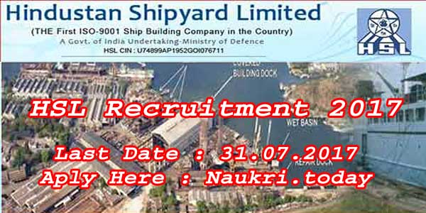HSL Recruitment 2017