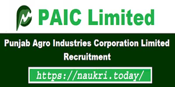 PAIC Recruitment 2017