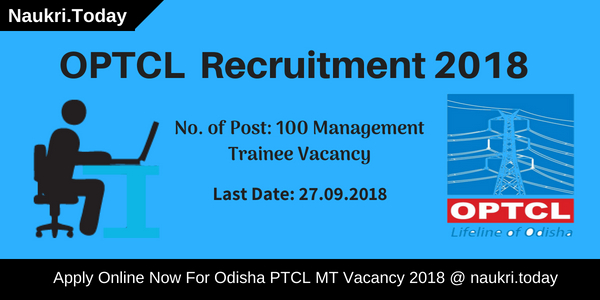 OPTCL Recruitment 2018