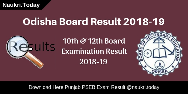 Odisha Board Result