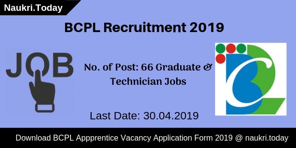 BCPL Recruitment