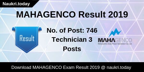 MAHAGENCO Result