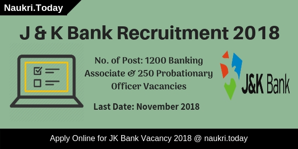 J & K Bank Recruitment