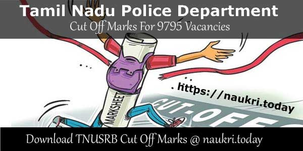 TNUSRB-Cut-Off-Marks