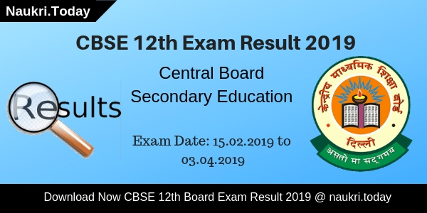 CBSE 12th Result