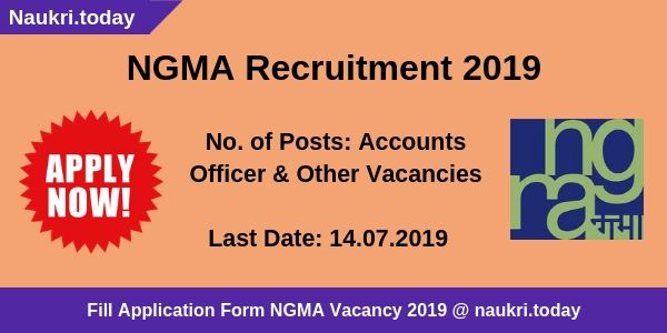 NGMA Recruitment