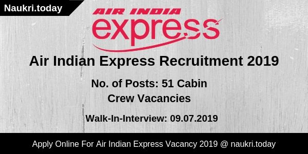 Air India Express Recruitment