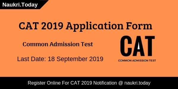 CAT 2019 Application form