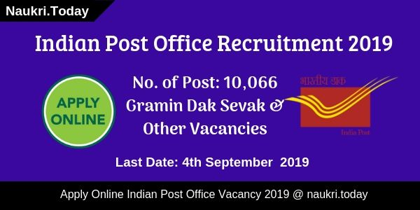Indian Post Office Recruitment