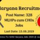 NHM Haryana Recruitment