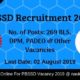 PBSSD Recruitment