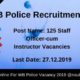 WB Police Recruitment