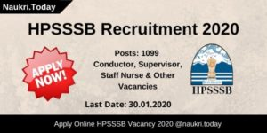HPSSSB Recruitment 2020 (1)