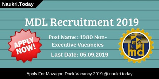 MDL Recruitment 2019