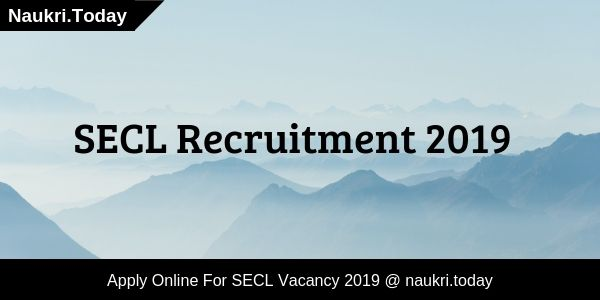 SECL Recruitment