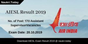 AIESL Result