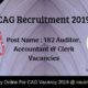 CAG Recruitment