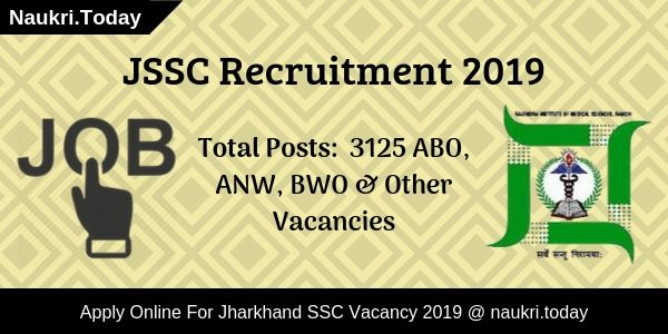 JSSC Recruitment