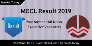 MECL Result