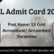 ECL Admit Card