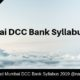 Mumbai DCC Bank Syllabus