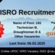 URSC ISRO Recruitment 2020