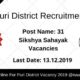 Puri District Recruitment 2019