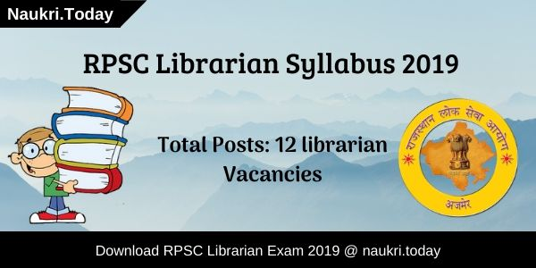 RPSC Librarian