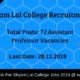 Shyam Lal College Recruitment
