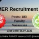 PGIMER Recruitment 2020