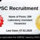 WBPSC Recruitment 2020