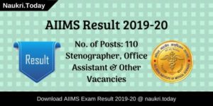 AIIMS Result
