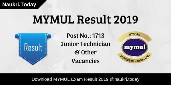 MYMUL Result