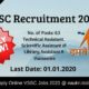 VSSC Recruitment 2020