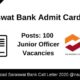 Saraswat Bank Admit Card 2020