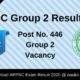 APPSC Group 2 Result